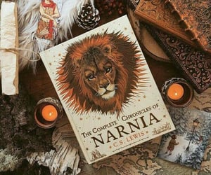 book, narnia, and candle image