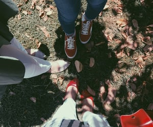 garden, shose, and friends image