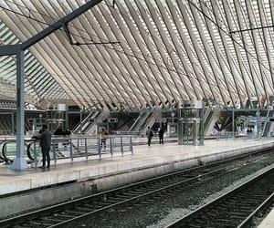belgium, trains, and trip image