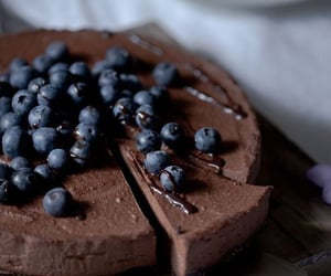 blueberry and chocolate image