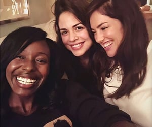 minka kelly, conor leslie, and anna diop image
