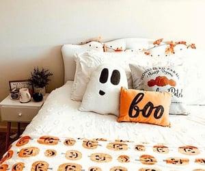 Halloween, bedroom, and home image