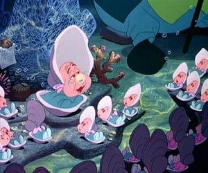 alice in wonderland, fantasy, and oysters image