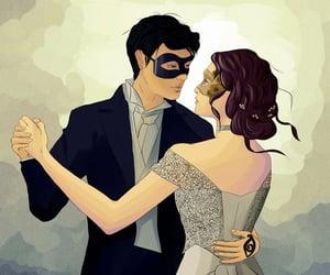 art, dance, and illustration image
