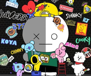 anime, bts, and bt21 image