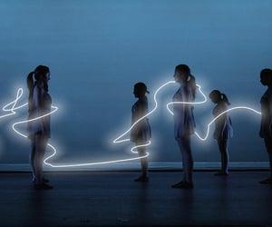 light, art, and glow image