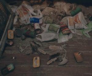 apartment, garbage, and trash image