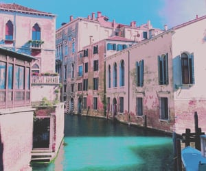 italy, pink, and building image