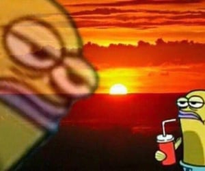 spongebob meme, reaction meme, and reaction image