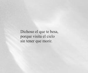 amor, beso, and frases image