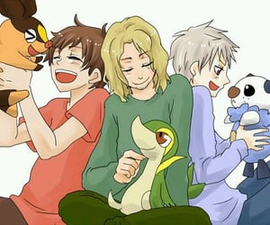 france, prussia, and pokemon image