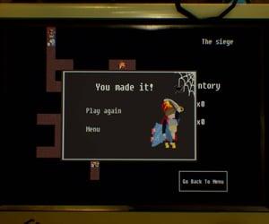 game, hero, and menu image