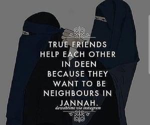 inspirational, muslims, and deen image