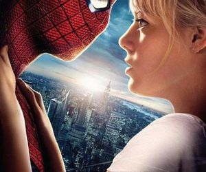 poster, love, and spiderman image