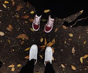 adidas, wonderful time, and leaves image