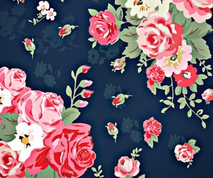 beautiful, pattern, and flowers image
