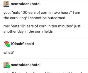 corn, funny, and lol image