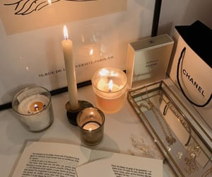 beauty, candles, and fashion image