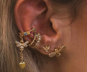 jewelry, earrings, and fashion image