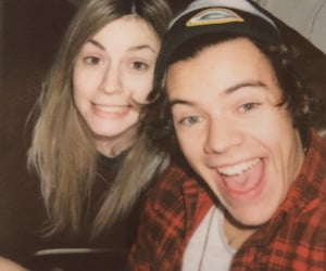 Harry Styles, gemma styles, and one direction image