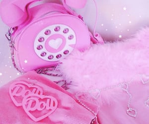 aesthetic, bling, and fluffy image