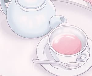 baby girl, pastel pink, and pastel drink image