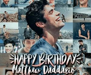 birthday, shadowhunters, and matthew daddario image