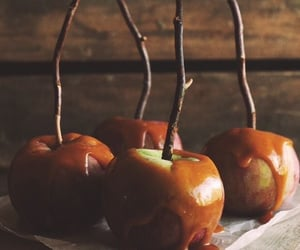 apple, autumn, and caramel image