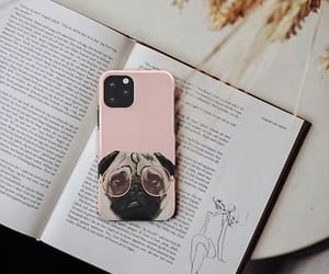 iphone cover, society6, and pug lover image
