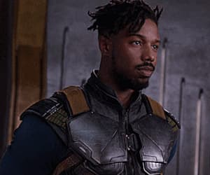 black panther, gif, and Marvel image