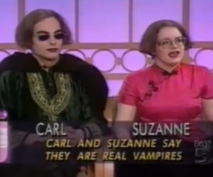 90's, couple, and vampire image