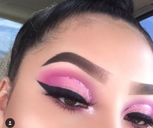 fashion, makeup, and maquiagem image