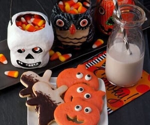 Halloween, autumn, and candy image