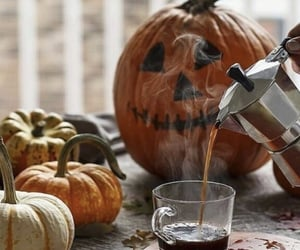 fall, autumn, and coffee image