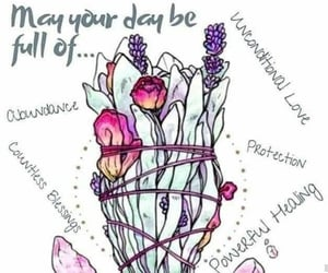 crystals, healing, and lavender image