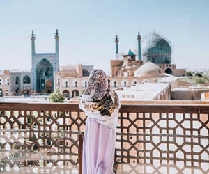 aesthetic, hijab, and mosque image