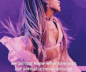 Lyrics, almost is never enough, and quotes image
