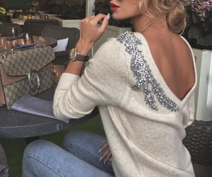 chic, fashionista, and luxury image