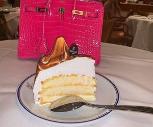 Birkin, cake, and delicious image