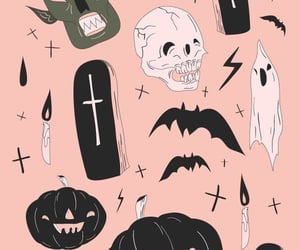 background, october, and Halloween image