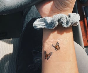 tattoo and butterfly image