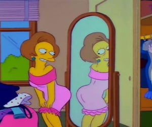 mood, pink, and simpsons image