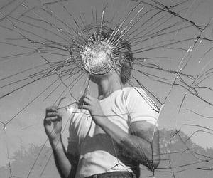 aesthetic, boy, and broken image