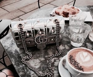 gucci, coffee, and fashion image