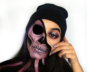 Halloween, ideas, and makeup image