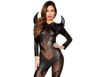 black, Devil, and costume image