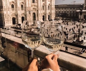 travel, city, and drink image