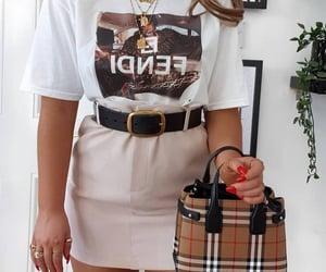 accessories, beige, and belt image