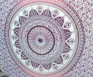 etsy, indian tapestry, and mandala wall art image