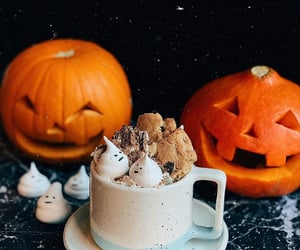 autumn, candy, and decoration image
